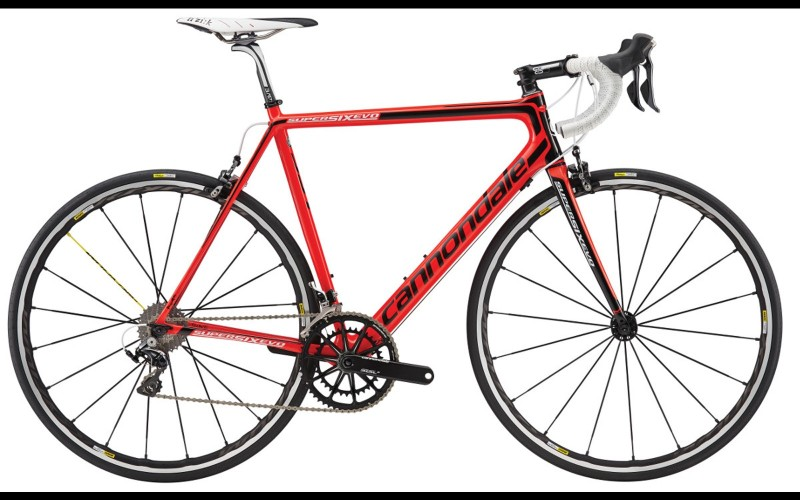 Cannondale Supersix Evo Red 2016