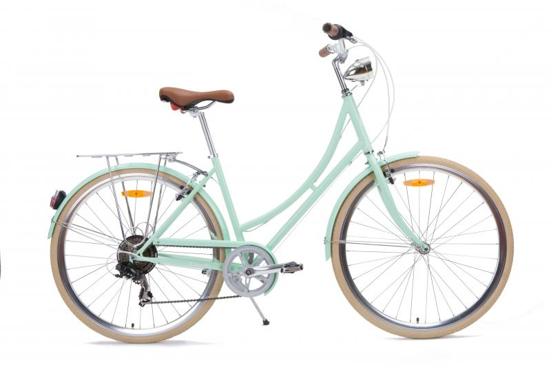 NIXEYCLES Dali - Ladies 7 Speed Bicycle Full Shimano Gear Set
