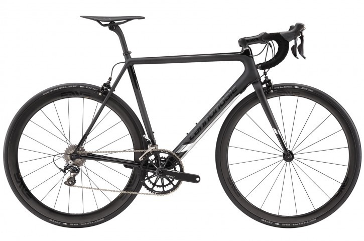 2016 Cannondale Super Six Evo Black Inc