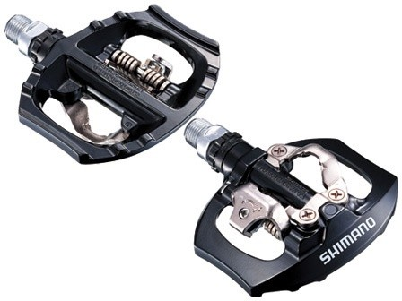 shimano PD-A530 SPD PEDALS ROAD TOURING BLACK