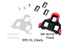 Shimano Cleat Set SPD-SL Red