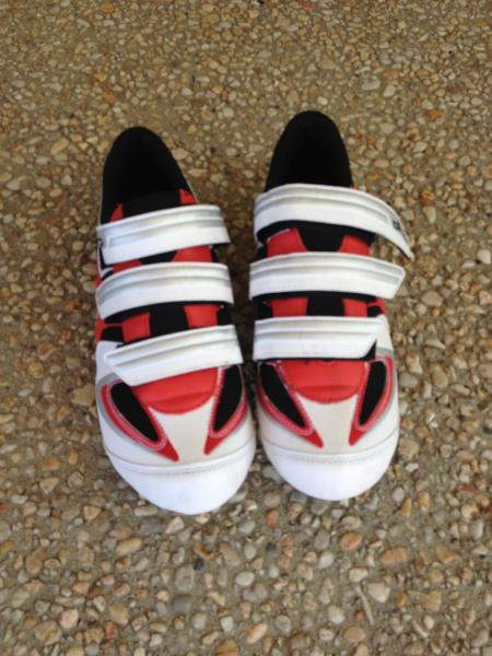 dhb cycling shoes size 45