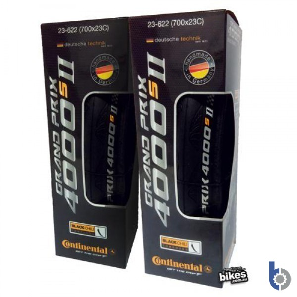 Continental GP4000s II Folding Tyres - PAIR