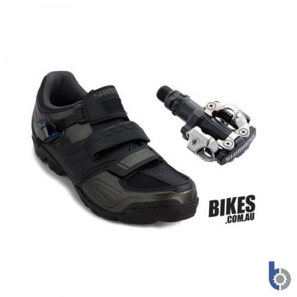 Shimano SH-M089 & PD-M520 MTB Shoe & Pedal Combo