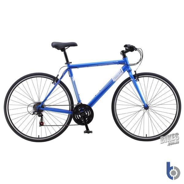 Progear FB-100   Mens Flat-Bar Road Bike - Anodised Blue