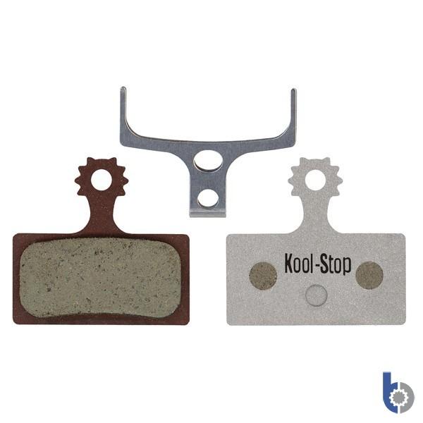 Kool-Stop Shimano XTR 2011, Deore XT & SLX Disc Brake Pads - Organic Alloy