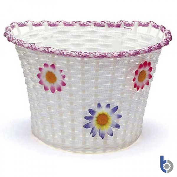 Bikes-Up! Plastic Flower Basket