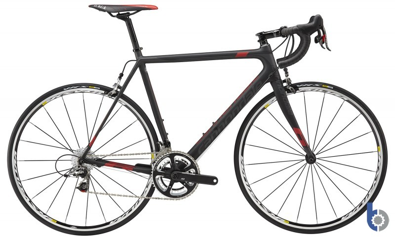 <p>Cannondale SuperSix Evo Carbon Sram Red 2015</p>