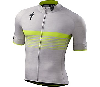 Specialized Jersey SL Expert Grey/Yellow L