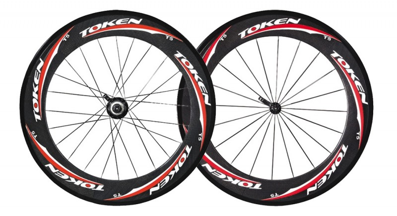 Token T5 Carbon Wheel Tubular Front Only
