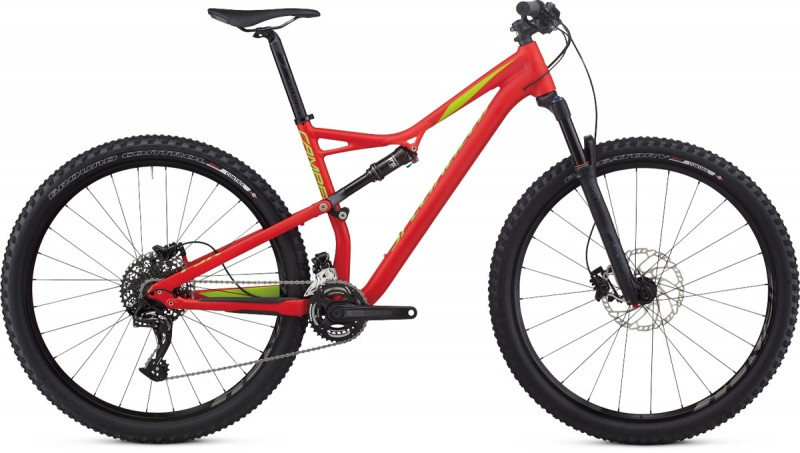 Specialized 17 Camber Comp 29 Flo Red Hyper Green Medium