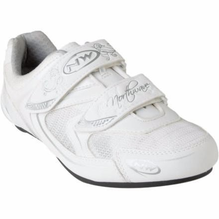 Northwave Womens Road Shoe Eclipse 37 White /Silver