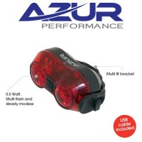 Azur Tail Light Rear AAA Battery