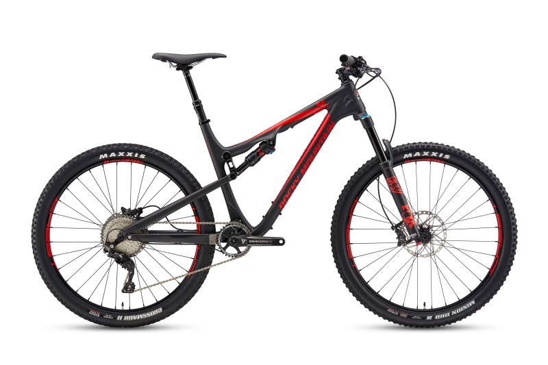 Rocky Mountain 17 ThunderBolt 770MSL Blk Red Med