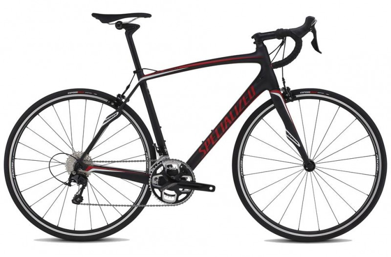 Specialized 16   Roubaix SL4 Sport Carb/Red/Wht 56