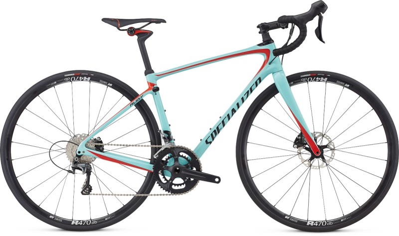 Specialized 17  Ruby Comp   LtTur/NorRd/Blk 54