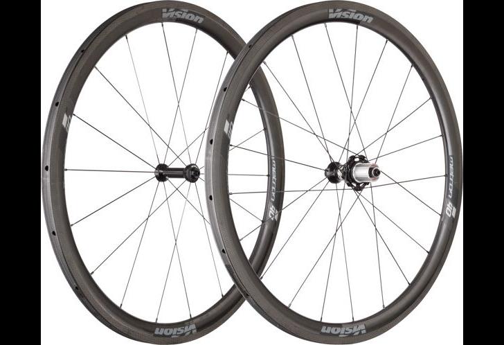 40 CARBON TUBULAR Wheel set