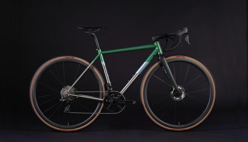 The Captain - 105 (Full Bike - Green)