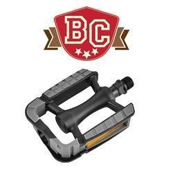 BC Cruiser Pedal Plastic 9/16 Black/Gray