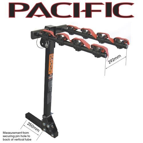 Pacific bike Carrier - Hitch Mount Foldable