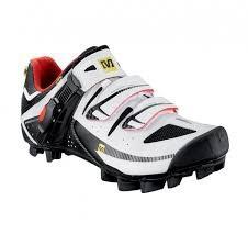 Mavic MTB Shoes White/Red/Black