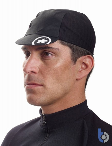 Assos Mille Cap evo 8 (Black) with cool mesh sides