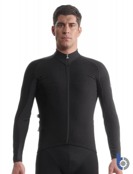 Assos Tiburu Jacket_EVO7 Black - Tailored Elegance