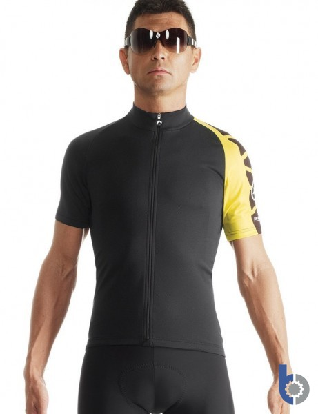 Assos SS mille jersey evo7 (yellow) - freedom fit, Assos detailing