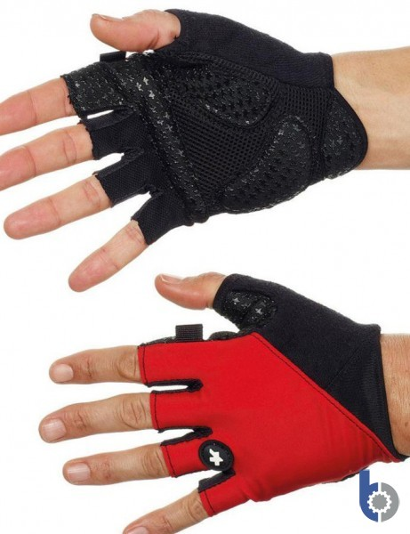 Assos summer Gloves_S7 (Red Swiss) - race comfort and performance