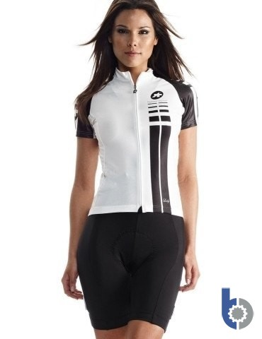 ASSOS SS.Lady Summer Jersey (White Panther) - Technically advanced and very comfortable