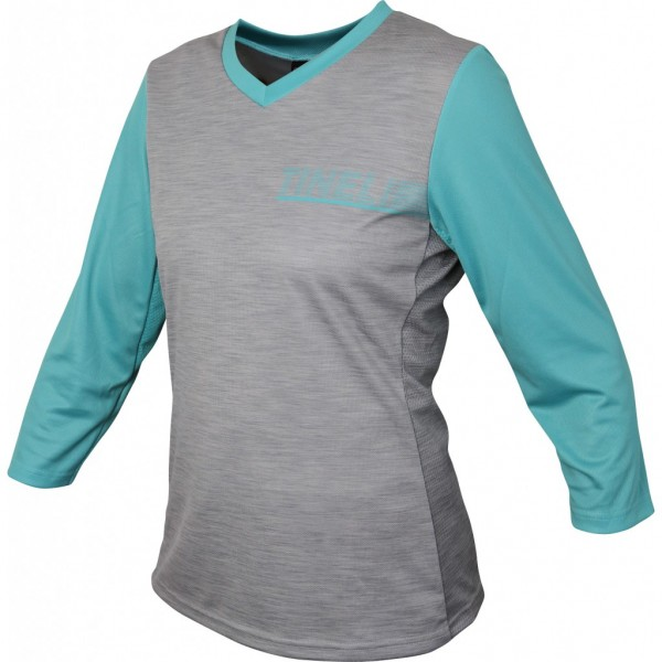 Women's Turquoise 3/4 Trail Jersey