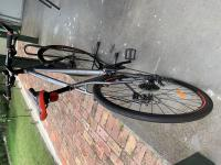 Men's Bike and bike stand included.  Ridden once only