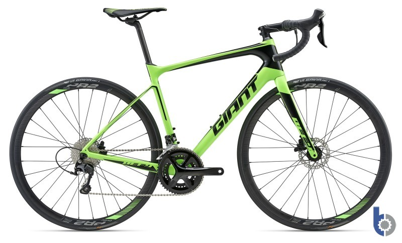 2018 Giant Advanced 2 - Neon Green