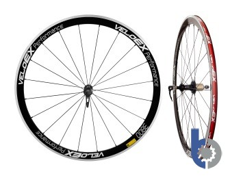 VELOEX 38MM ALL0Y CLINCHER ROAD WHEELS