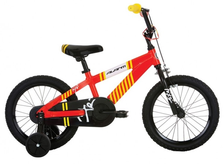 AVANTI MXR SIZE 16 RED / YELLOW | Bicycles for sale in Collingwood
