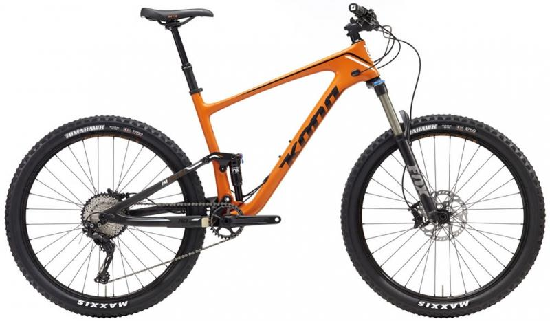 Kona HEI HEI TRAIL (140mm Travel Carbon Trail bike) 2017