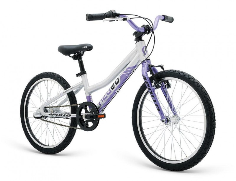 2018 Neo 24 3I Girls Brushed Alloy/Purple/Black
