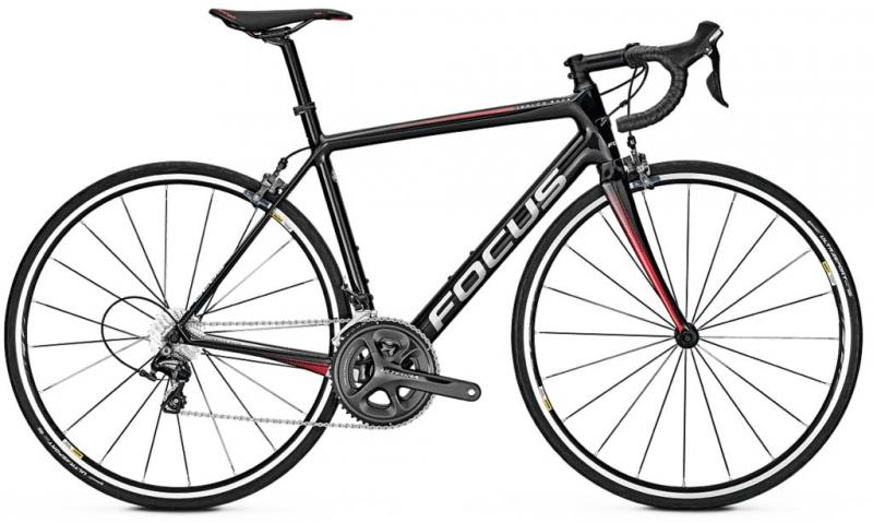 2018 Focus Izalco Race Ultegra - Black / Red / White